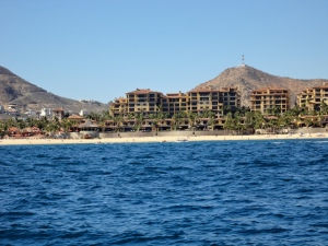 A view of Cabo San Lucas from the ship